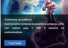 SuomiArvat-kasinoarvostelu – 200 € bonus + 100 ilmaiskierrosta screen