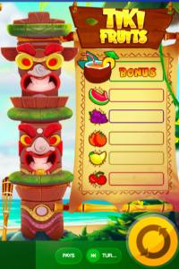Tiki Fruits -hahmot