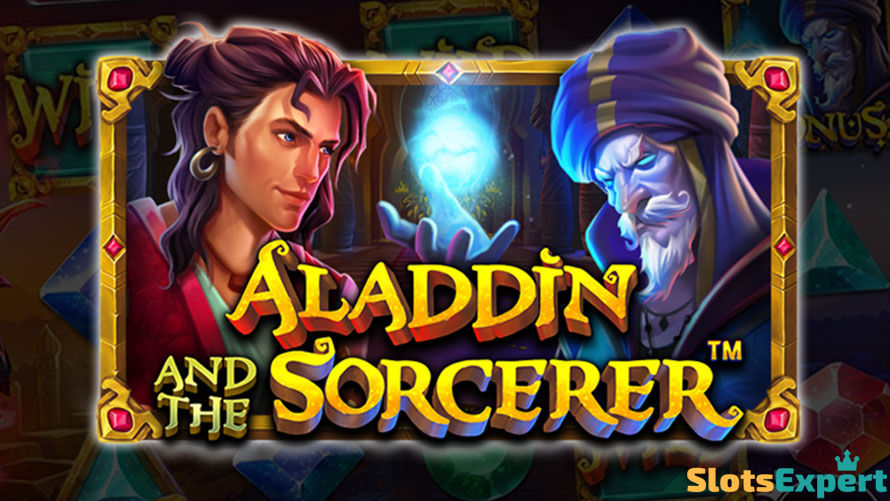 aladdin and the sorcerer slot review