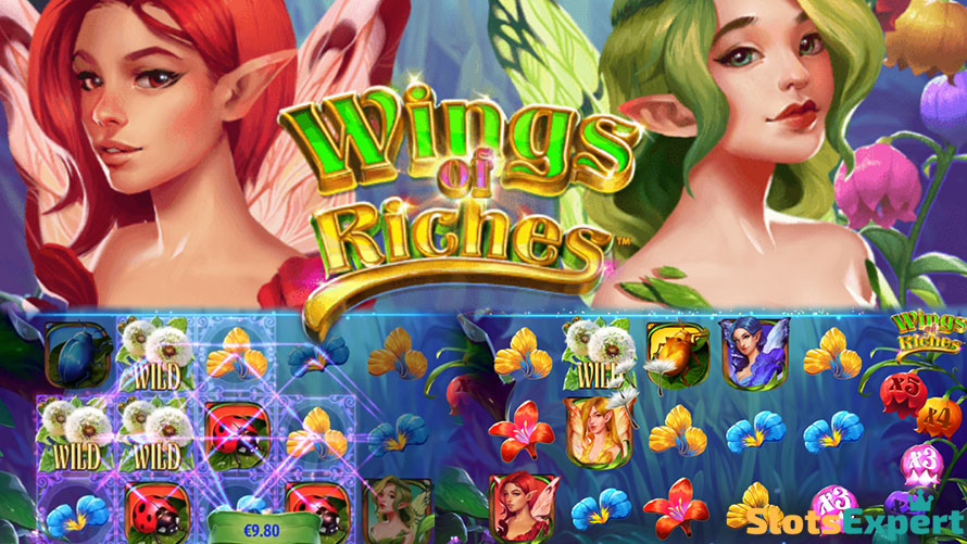 Wings-of-Riches - NetEntin taianomainen seikkailu