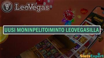 Uusi moninpelitoiminto LeoVegasilla – pelaa useita kasinopelejä samanaikaisesti!