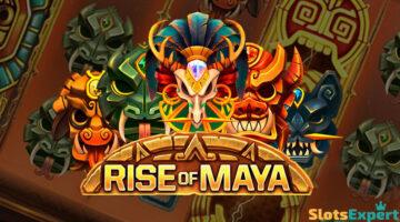 Rise of Maya -kolikkopelissä luikertelevat arvokkaat käärmeet