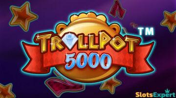 Trollpot 5000 – klassista tyyliä, voittokertoimia ja kolme jättipottia!
