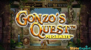 Gonzo's Quest Megaways – klassikkoslotin jatko-osa 117 640 voittotavalla!
