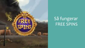 Vad är free spins?