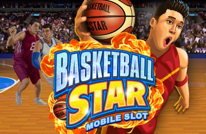 logga för basketball star slot