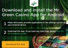 Mr Green Casino Review – 100% Match Bonus up to £200 screen