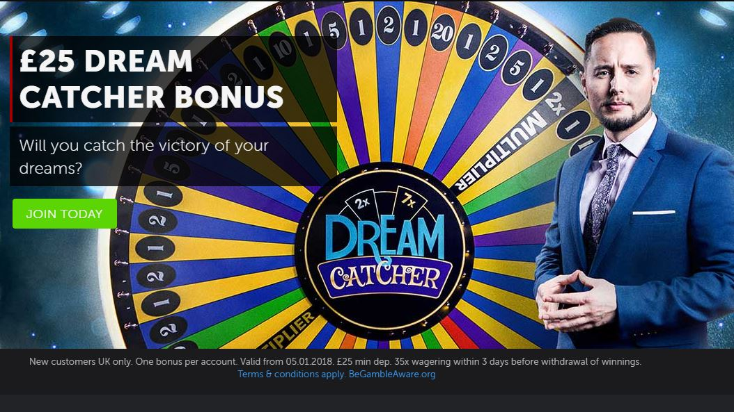 betsafe-dream catcher bonus in february