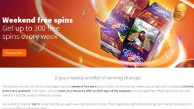 betsson weekend freespins in february