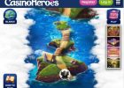Casino Heroes Review – Catch £100 Welcome bonus + Free spins screen
