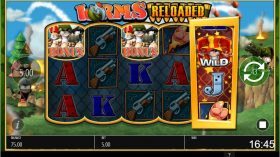 worms reloaded slot in-game view