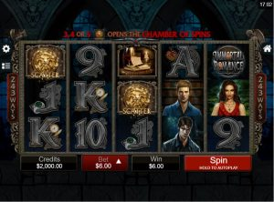 immortal romance slot in-game