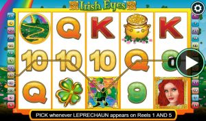 irish eyes slot in-game view