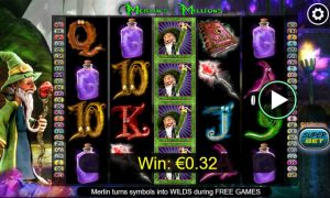 merlins millions slot in-game