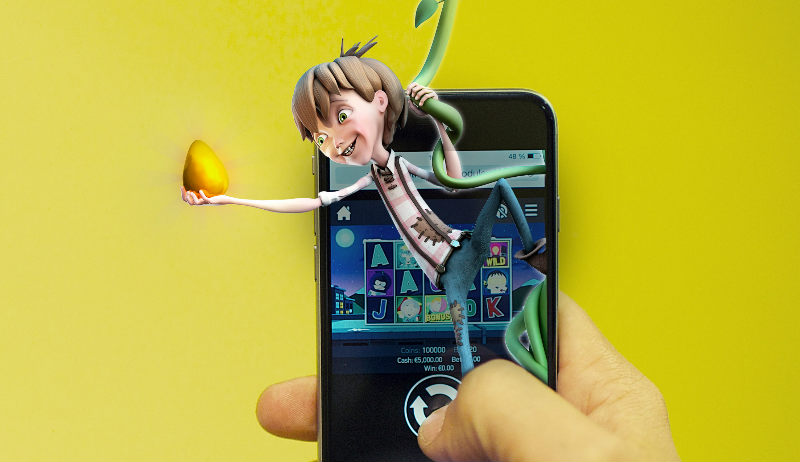 Jack and the Beanstalk on mobile