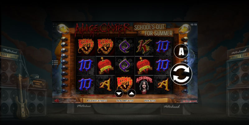 the best rock inspired slot games