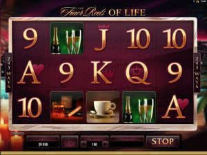 the finer reels of life slot in-game