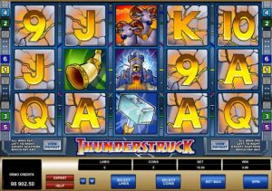 thunderstruck slot in-game