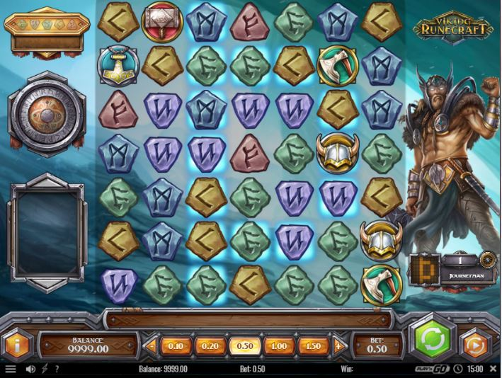 vikings runecraft slot in-game view