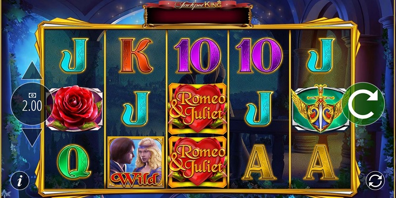 Romeo and Juliet slot game