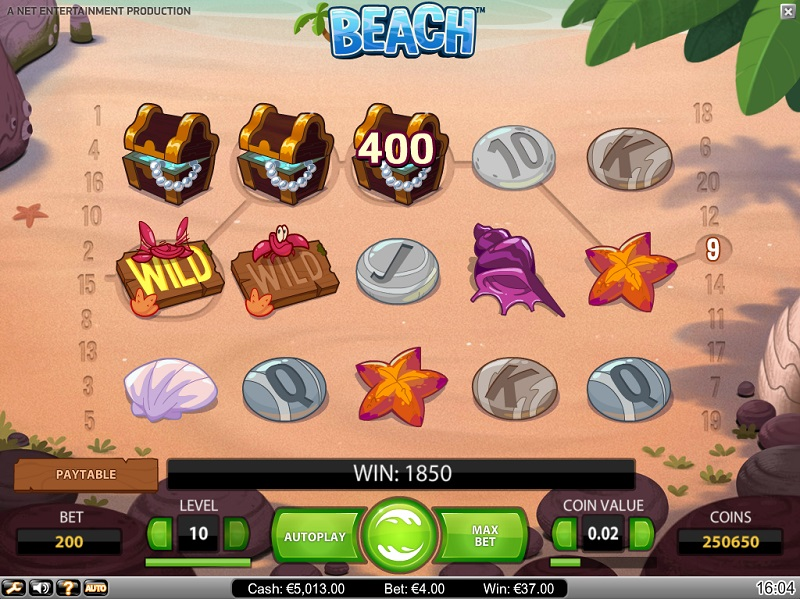 summer-themed slots