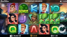 Outerspace Invaders Slot Game Review