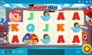 rocket men in play
