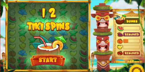 tiki spins feature