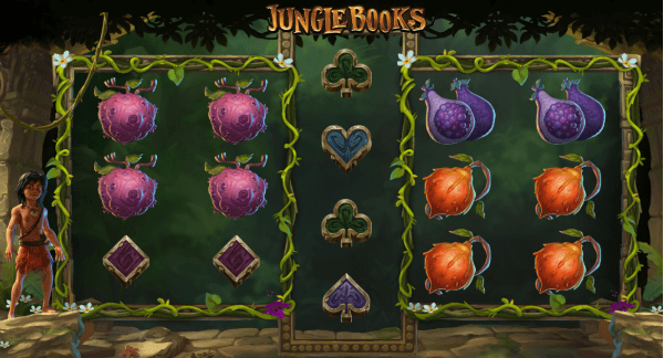 jungle books layout