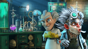 Slots with mad scientists