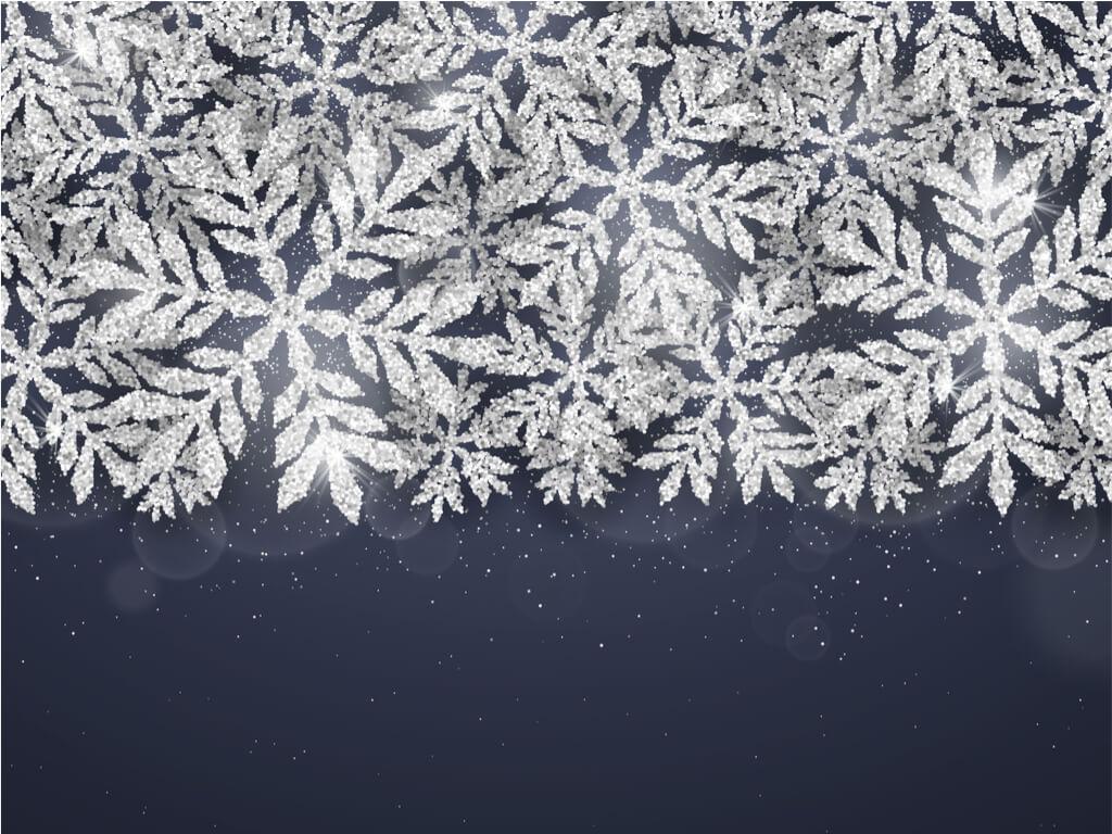 snowflakes glitter 2