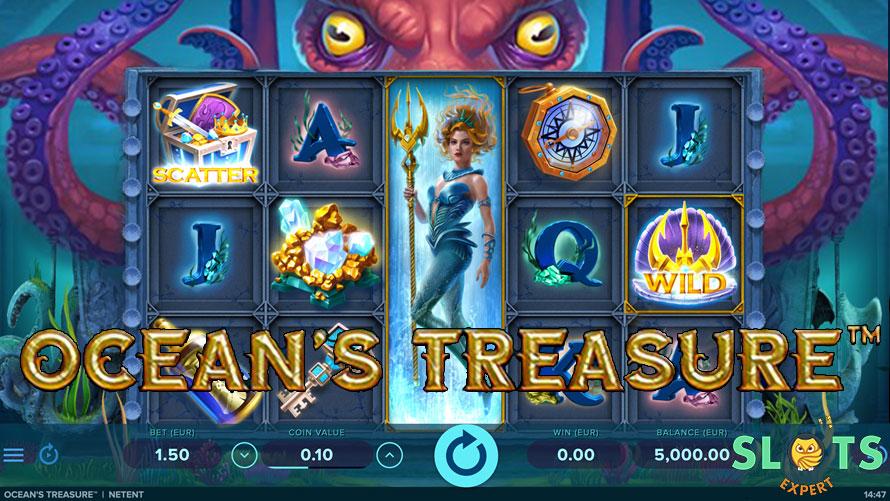 Ulasan Ocean's Treasure Machine