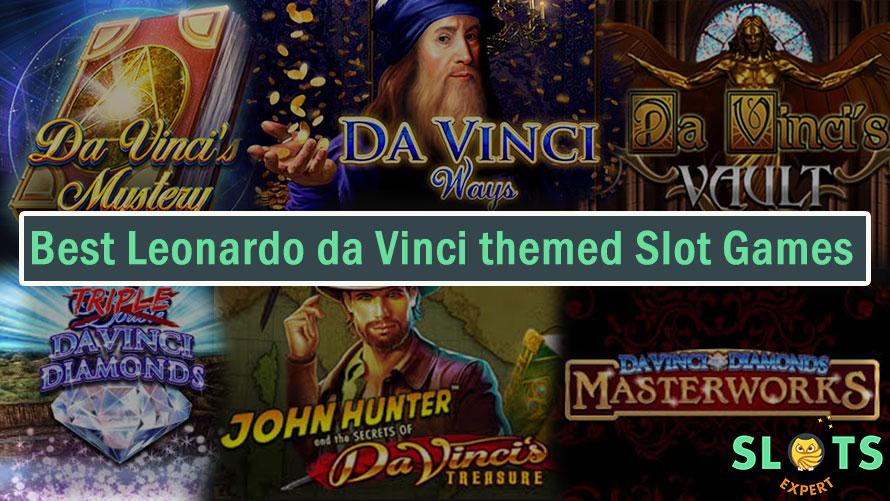 Leonardo da Vinci themed Slots