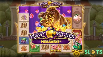 Hit it 'pig' with the slot game update of the decade; Piggy Riches Megaways