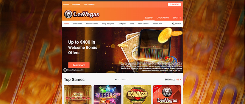 LeoVegas - the best UK online casinos