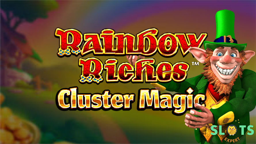 Rainbow Riches Cluster Magic slot